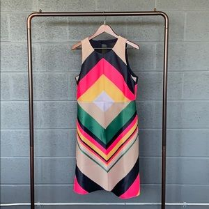 NWT J. Crew Rainbow Dress